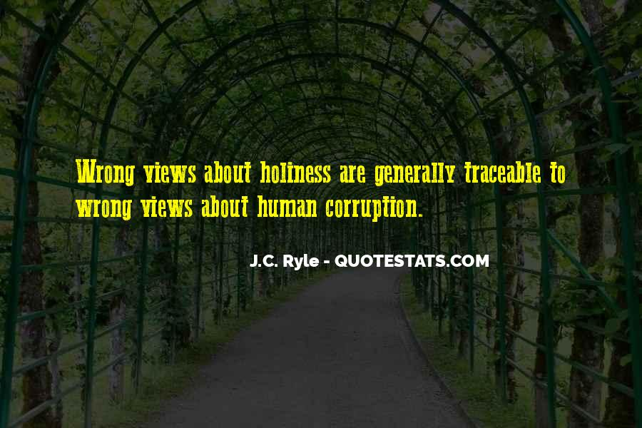 Ryle Holiness Quotes #844029