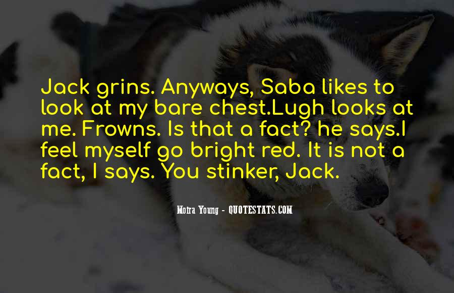 Saba And Jack Quotes #140812