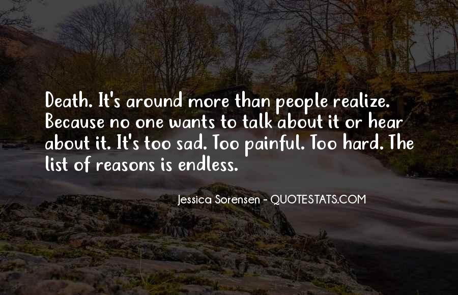Sad About Him Quotes #115192