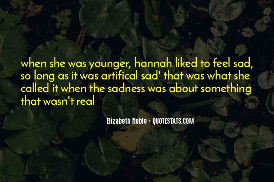 Sad About Him Quotes #22431