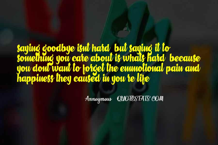 Sad About Him Quotes #91655