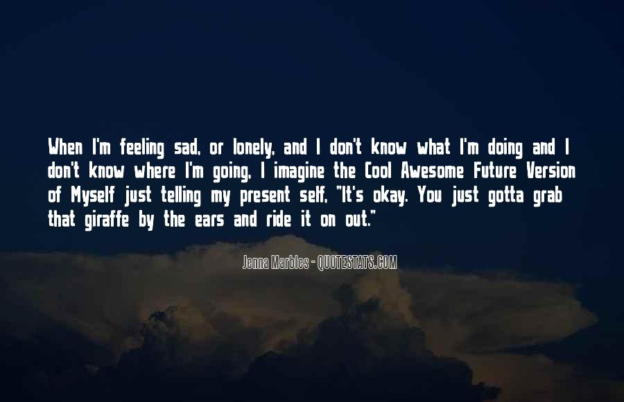 Sad But Cool Quotes #17316