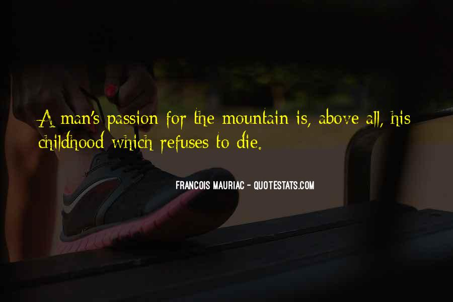 Quotes About A Passion #18396
