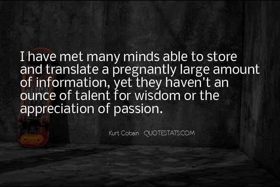 Quotes About A Passion #43833