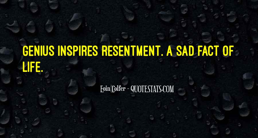 Sad Life Fact Quotes #1625740