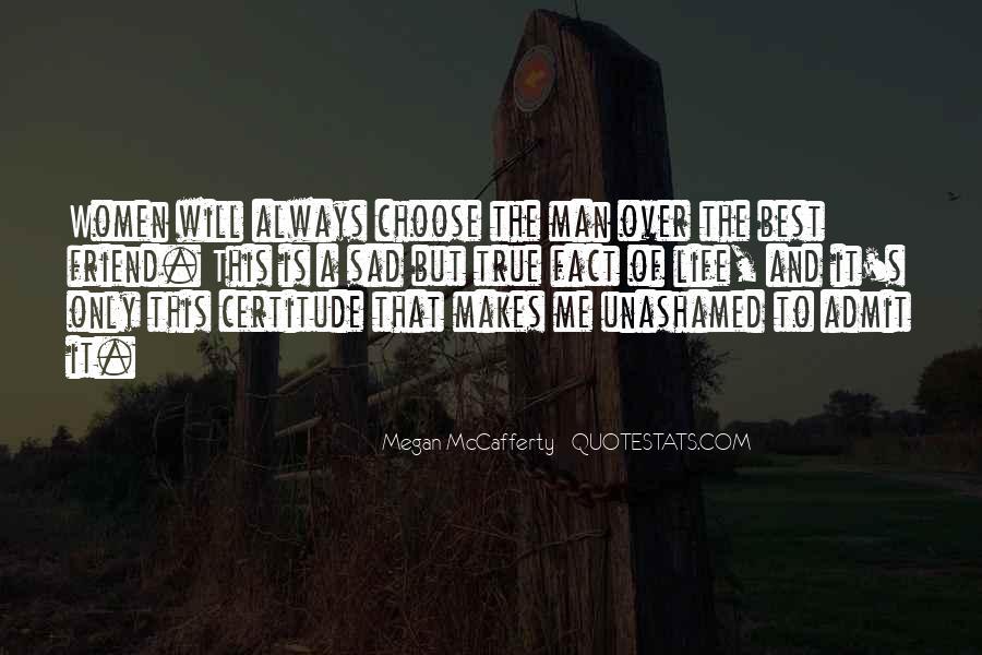 Sad Life Fact Quotes #327097