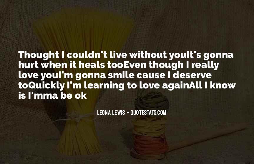 Sad Love Breakup Quotes #1409415