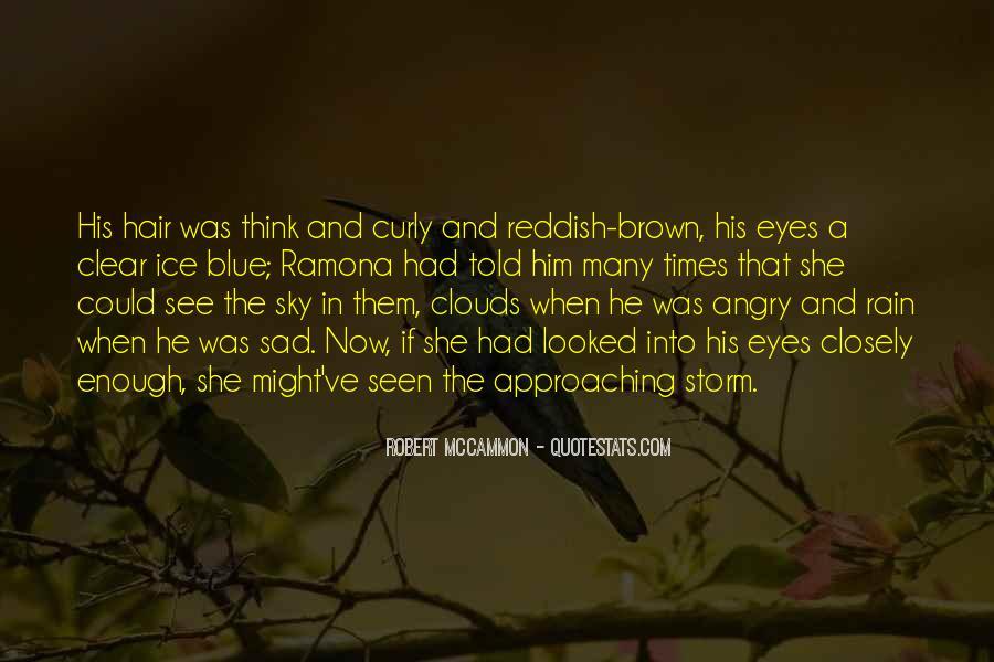 Sad Rain Quotes #1416204