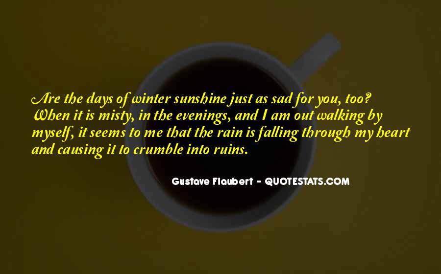Sad Rain Quotes #1501562