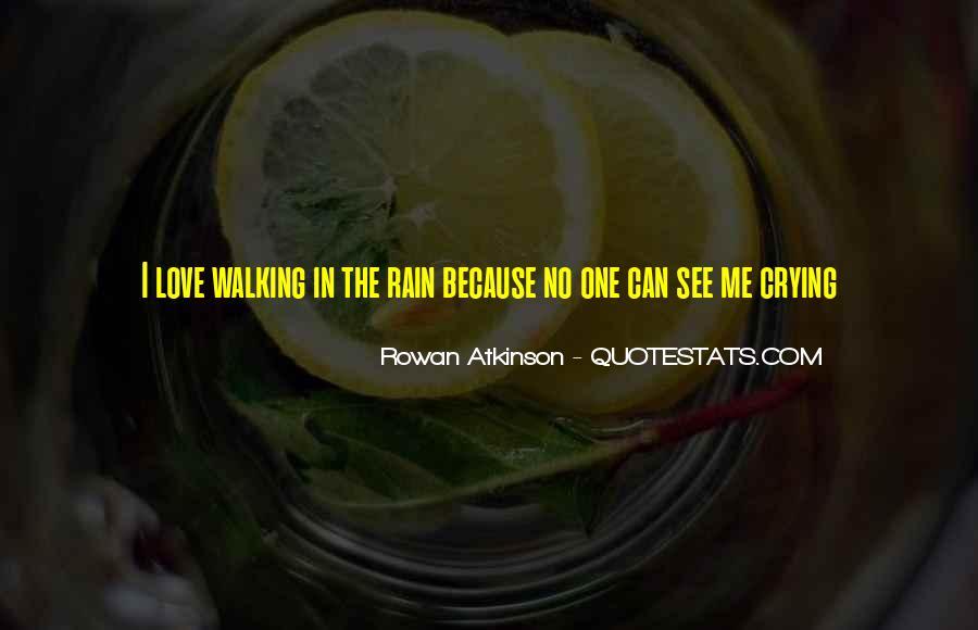 Sad Rain Quotes #1680002