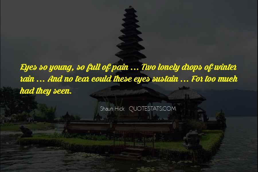 Sad Rain Quotes #770188