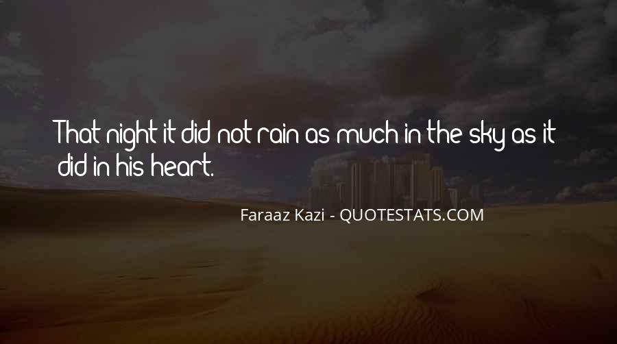 Sad Rain Quotes #778117