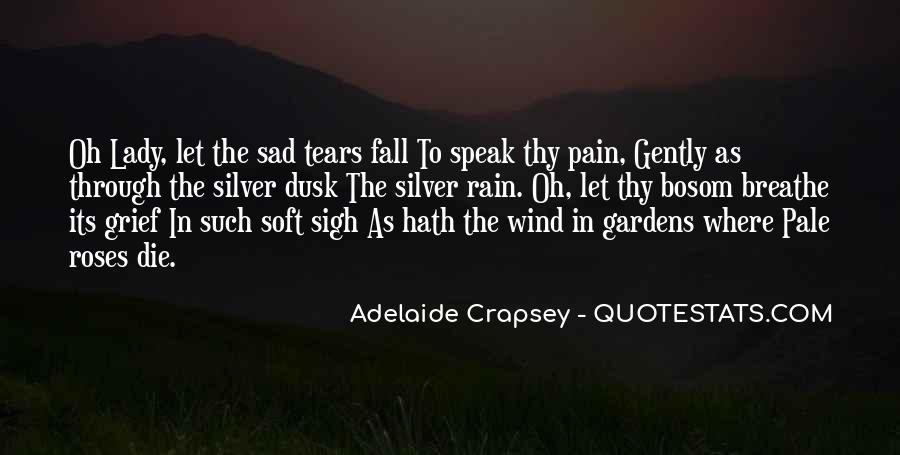 Sad Rain Quotes #841851