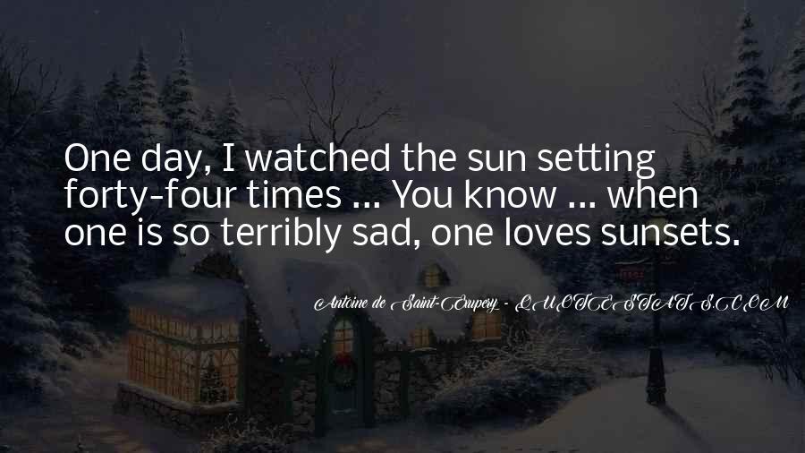 Sad Times Quotes #1140178