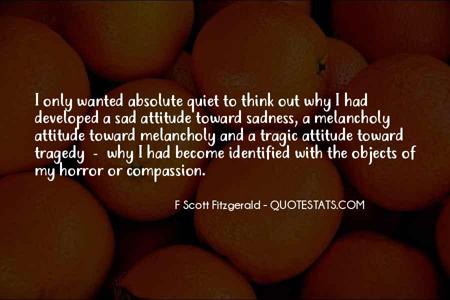 Sad With Attitude Quotes #1877964