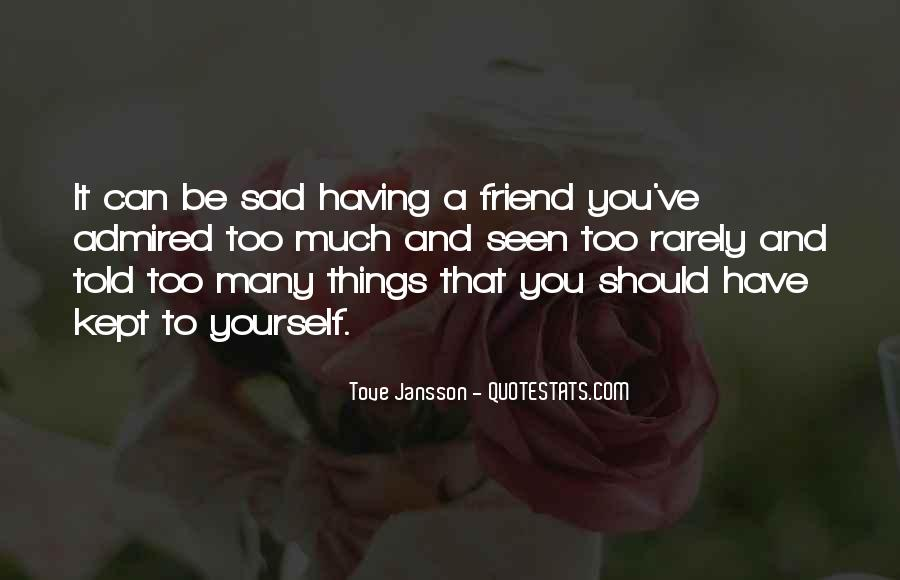 Top 41 Sad With Friendship Quotes: Famous Quotes & Sayings ...