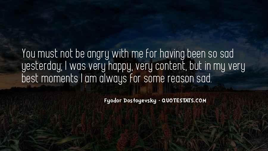 Sad Without Reason Quotes #47444