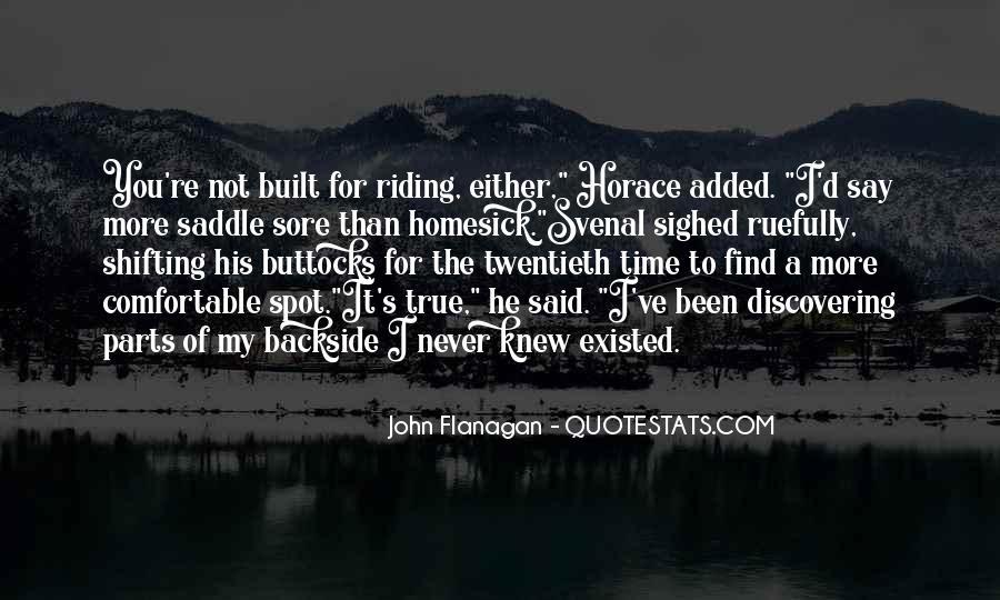 Saddle Sore Quotes #100587
