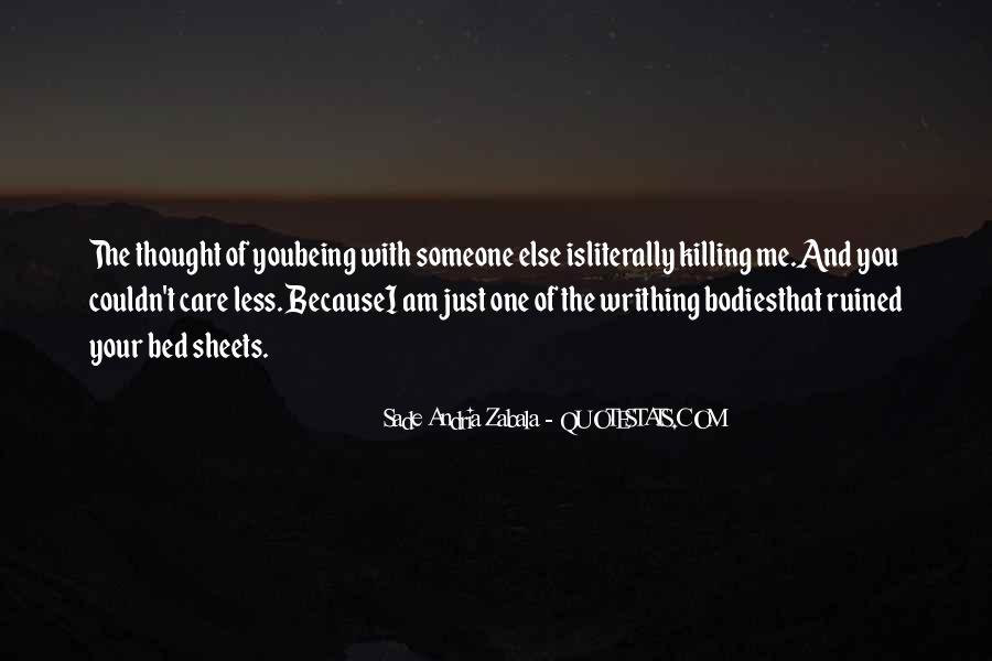 Sade Zabala Quotes #1081438