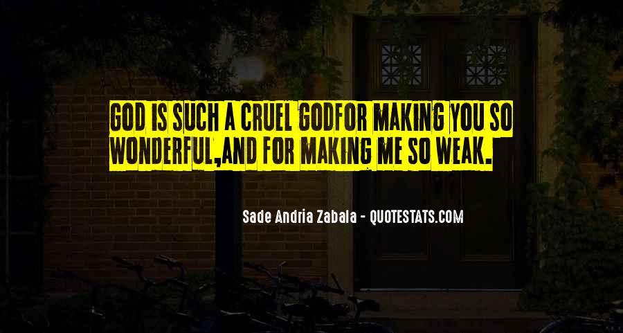 Sade Zabala Quotes #1082257