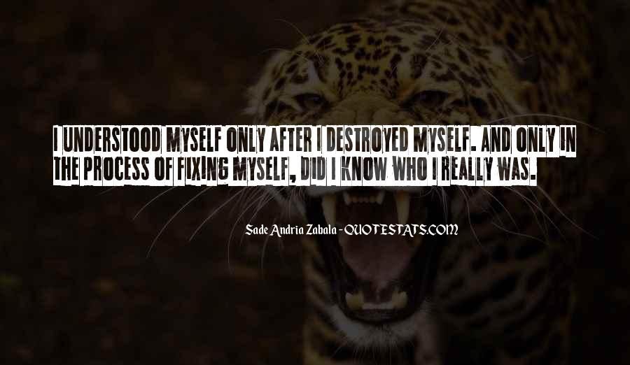Sade Zabala Quotes #1322364