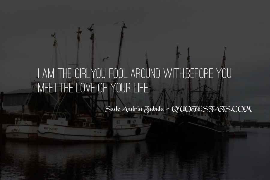 Sade Zabala Quotes #990906