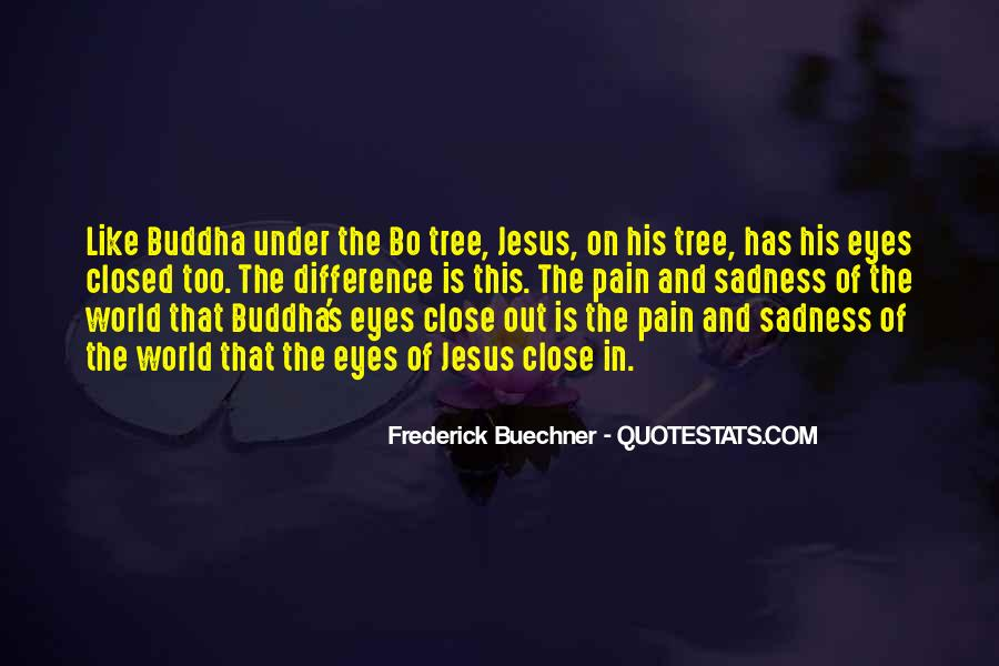 Sadness In His Eyes Quotes #1769816