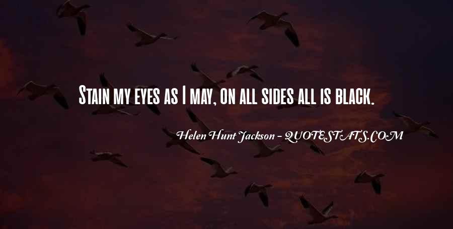 Sadness In His Eyes Quotes #275601