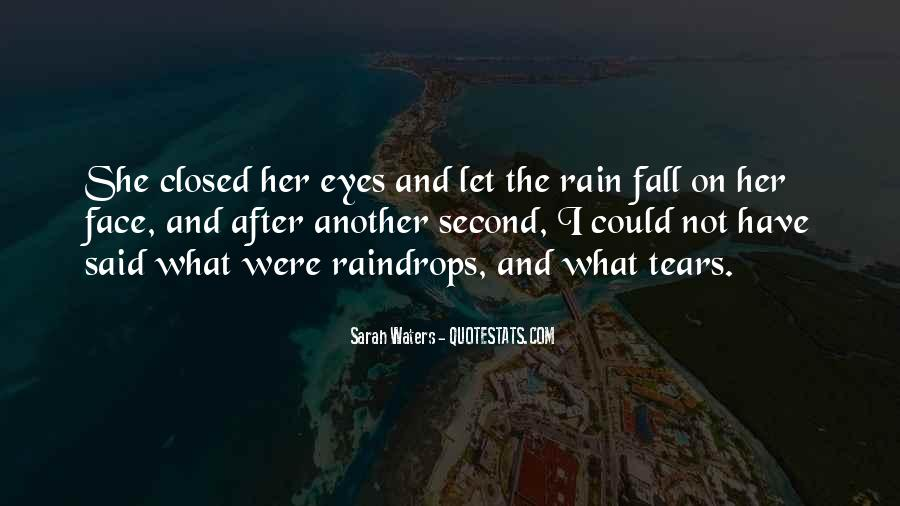 Sadness In His Eyes Quotes #548657