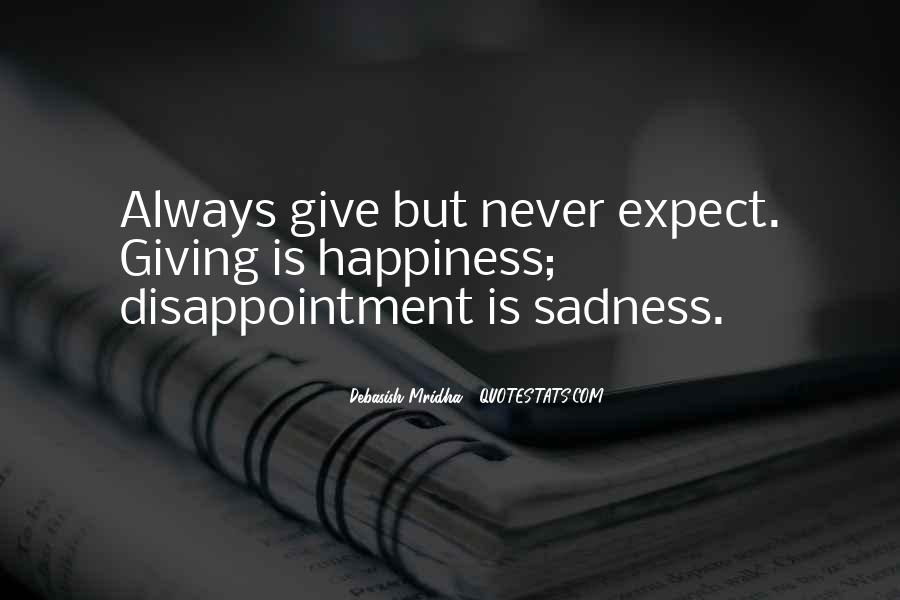 Sadness Is Always With Me Quotes #120818