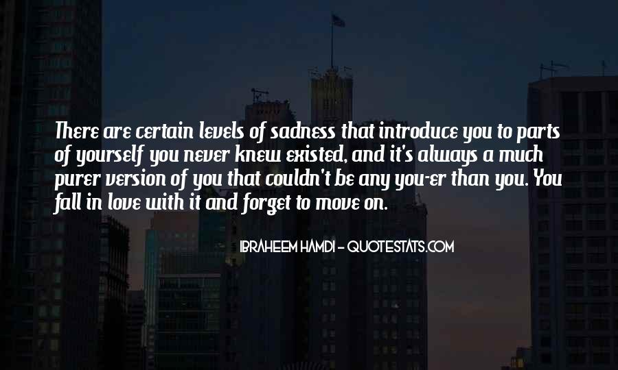 Sadness Is Always With Me Quotes #195332