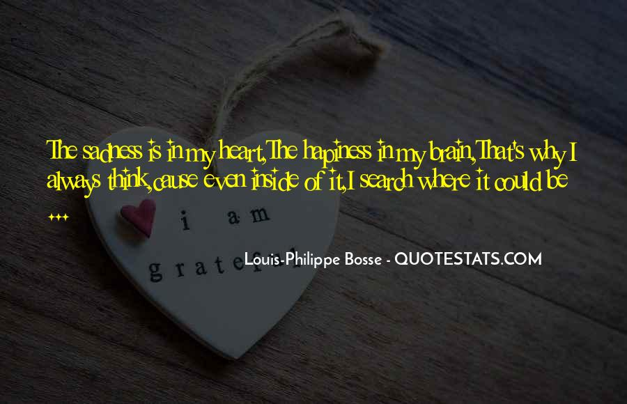 Sadness Is Always With Me Quotes #248485