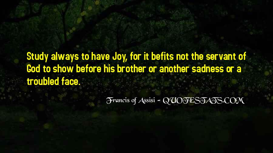 Sadness Is Always With Me Quotes #83561