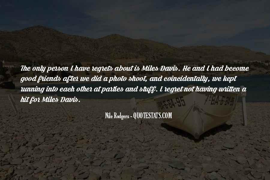 Quotes About Miles Davis #191668