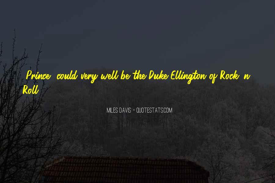 Quotes About Miles Davis #306969