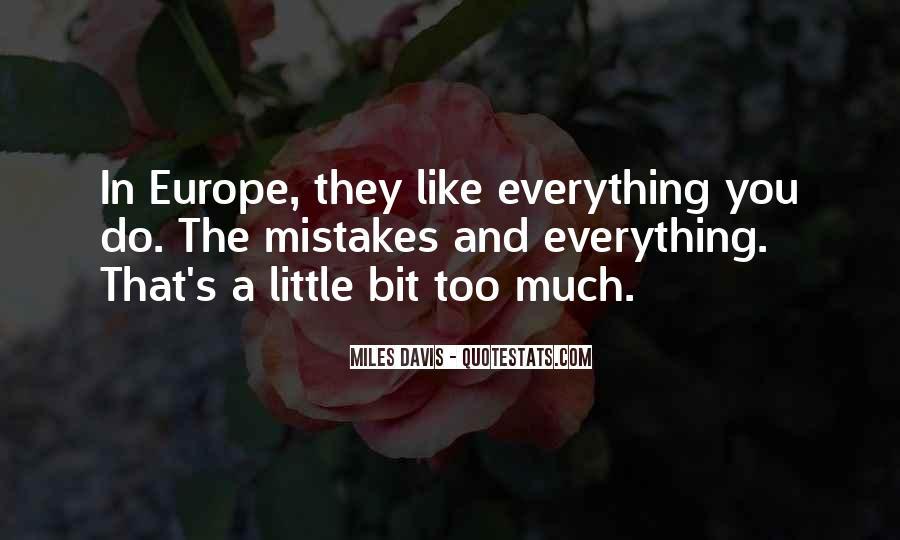 Quotes About Miles Davis #310076