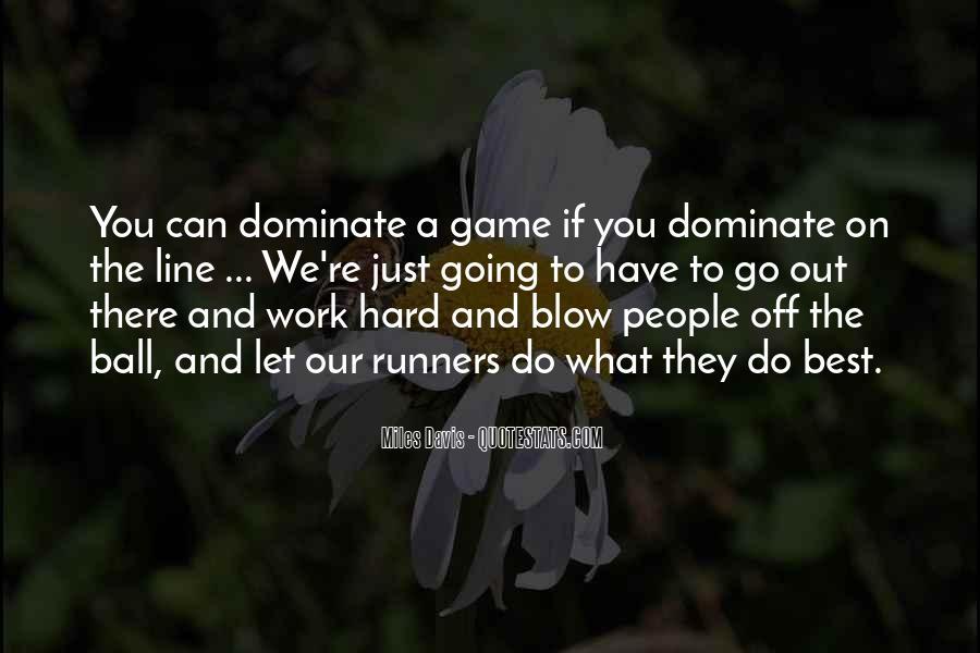 Quotes About Miles Davis #379292
