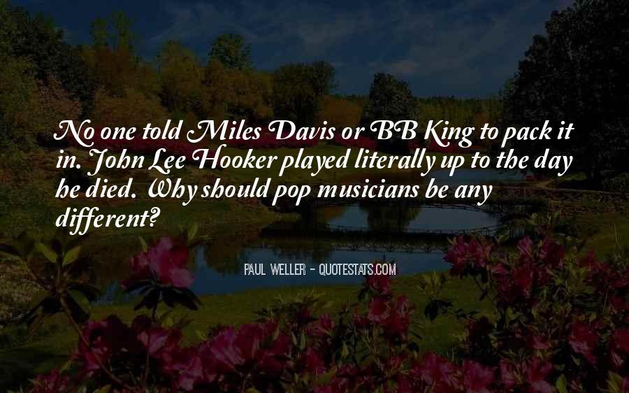 Quotes About Miles Davis #460048
