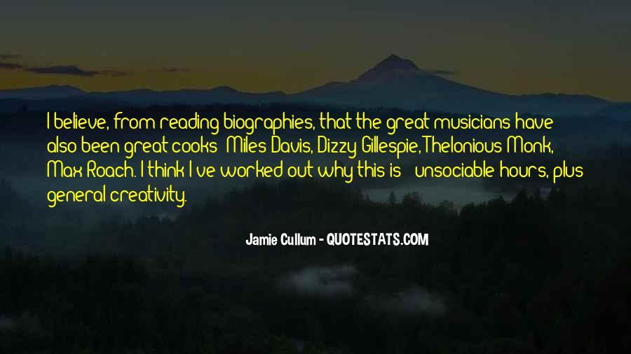 Quotes About Miles Davis #526661