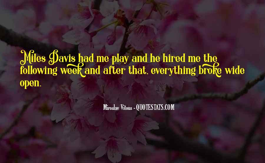 Quotes About Miles Davis #563233