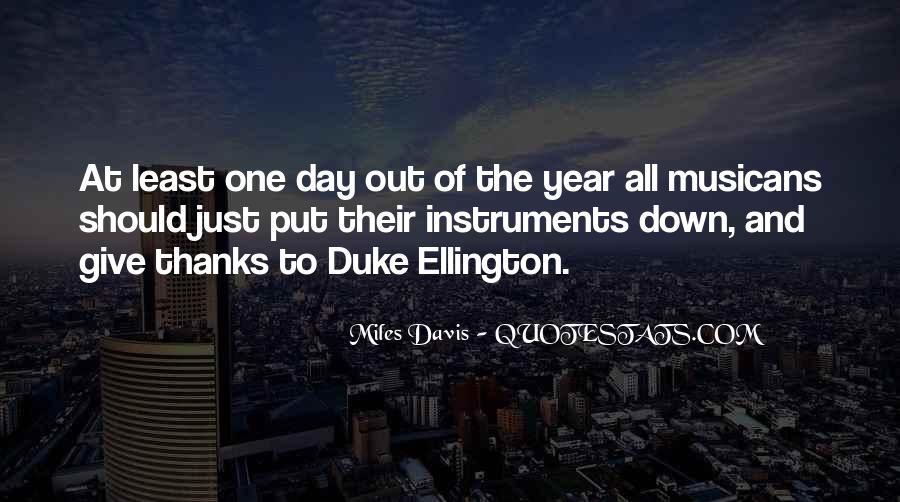 Quotes About Miles Davis #616646