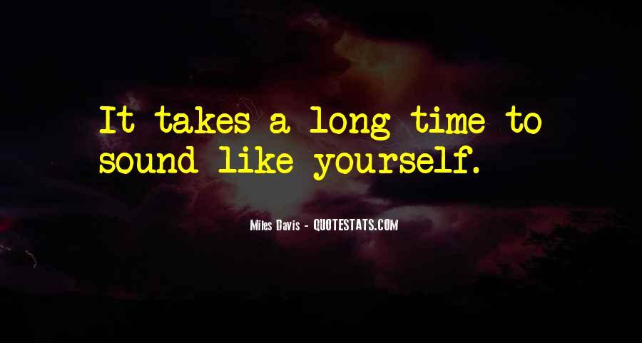 Quotes About Miles Davis #642287