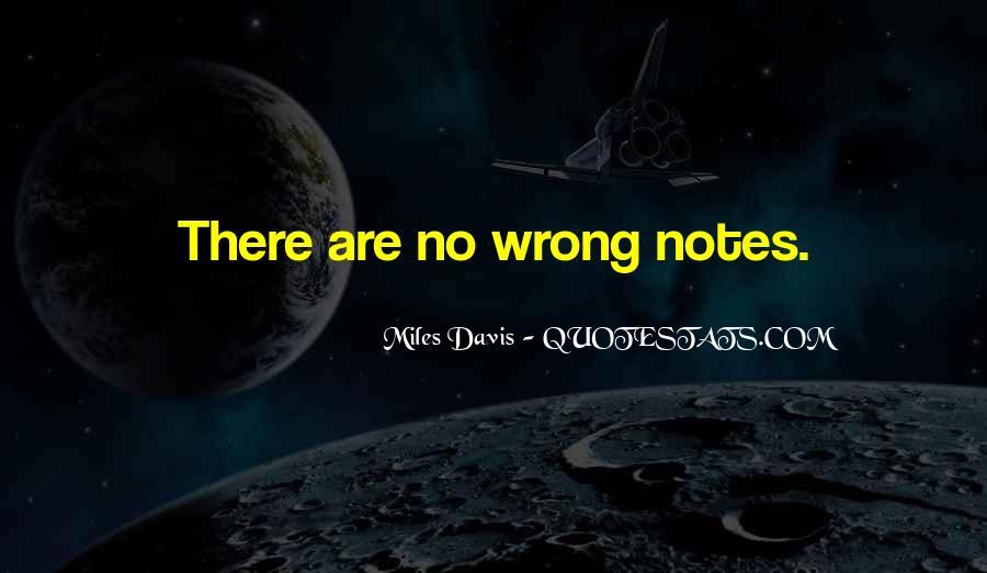 Quotes About Miles Davis #660551