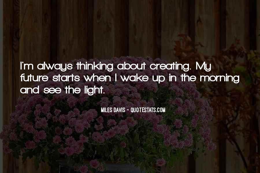 Quotes About Miles Davis #691458