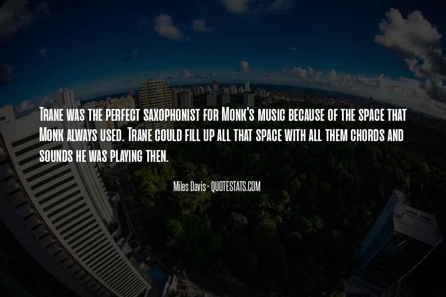 Quotes About Miles Davis #805164