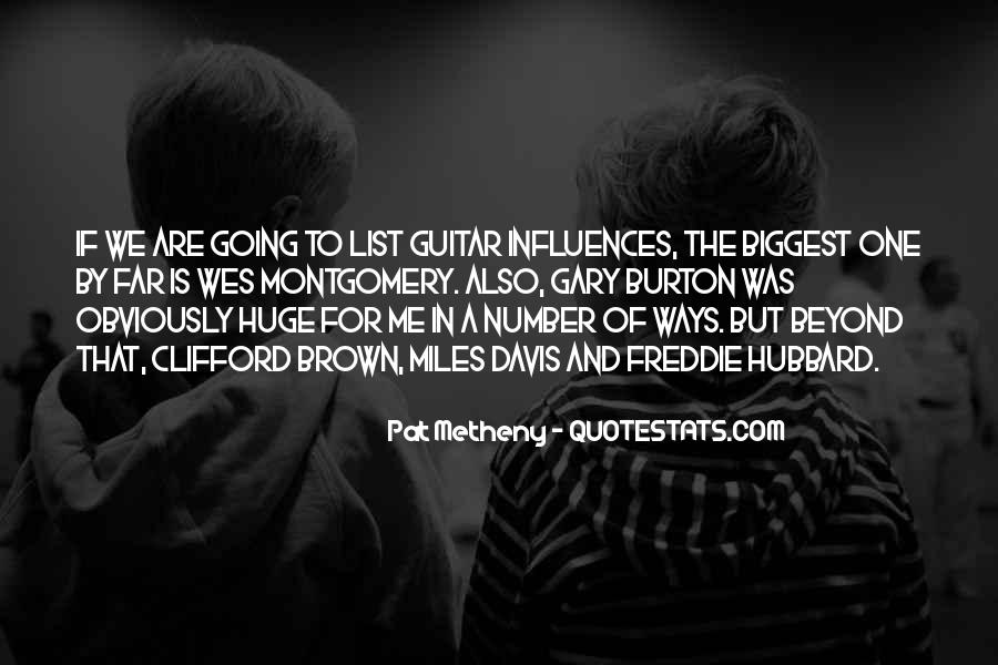 Quotes About Miles Davis #81458