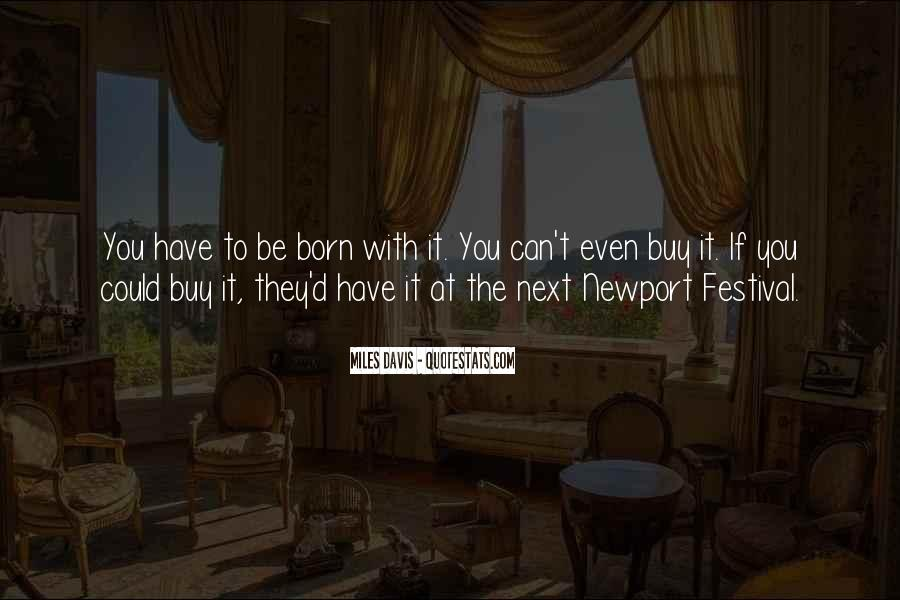 Quotes About Miles Davis #858890