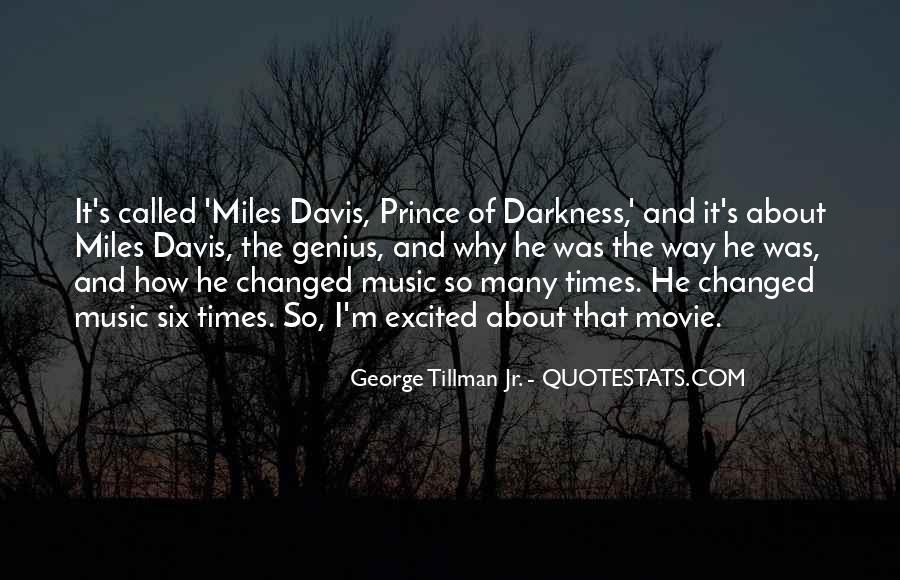 Quotes About Miles Davis #920012