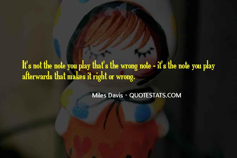 Quotes About Miles Davis #950259