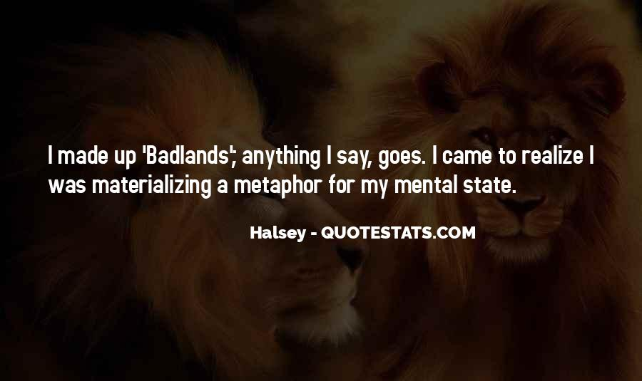 Quotes About Halsey #212671